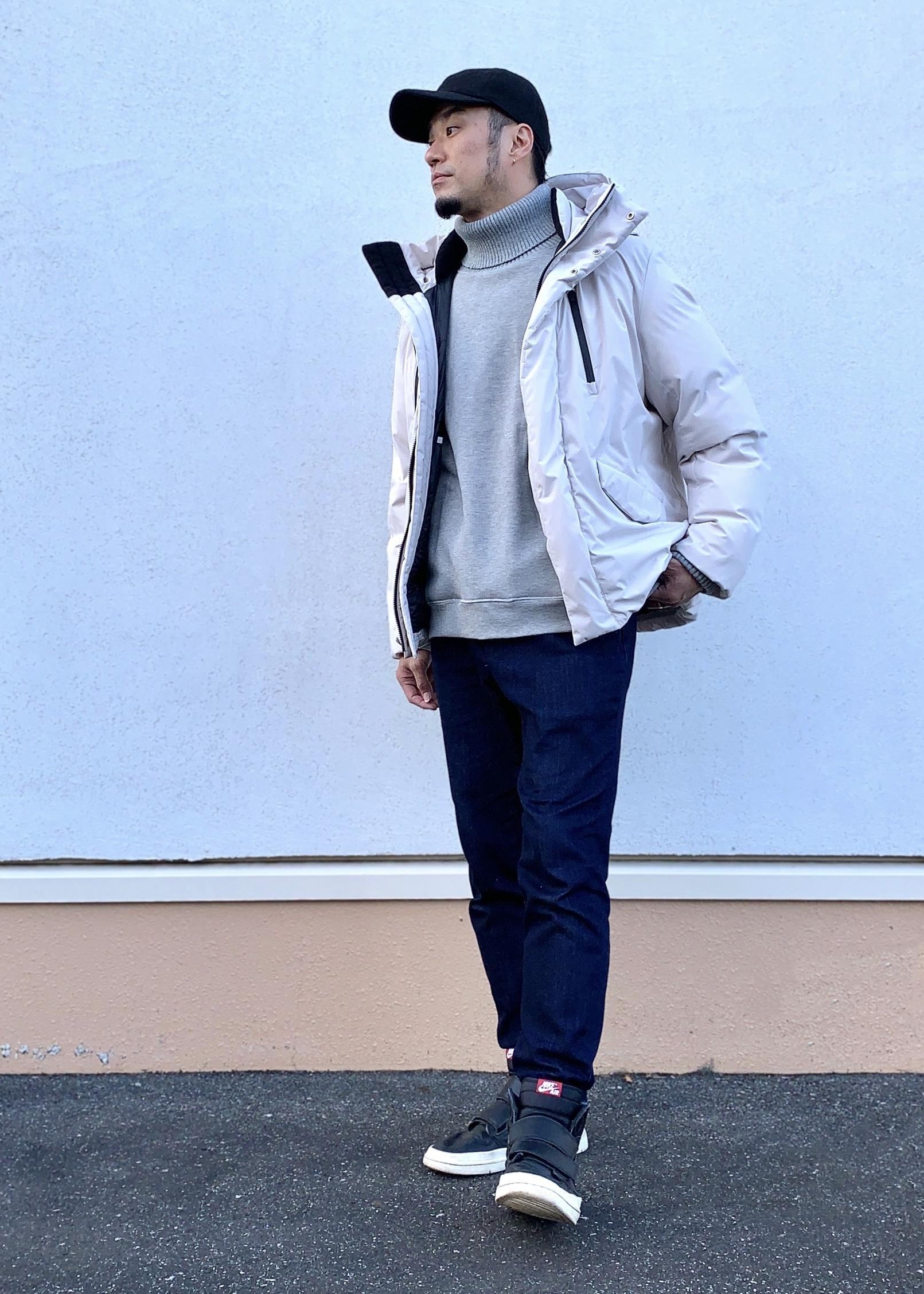 JUNRedの裏起毛スウェットタートルを使ったコーディネートを紹介します。 Rakuten Fashion(楽天ファッション/旧楽天ブランドアベニュー)1082786