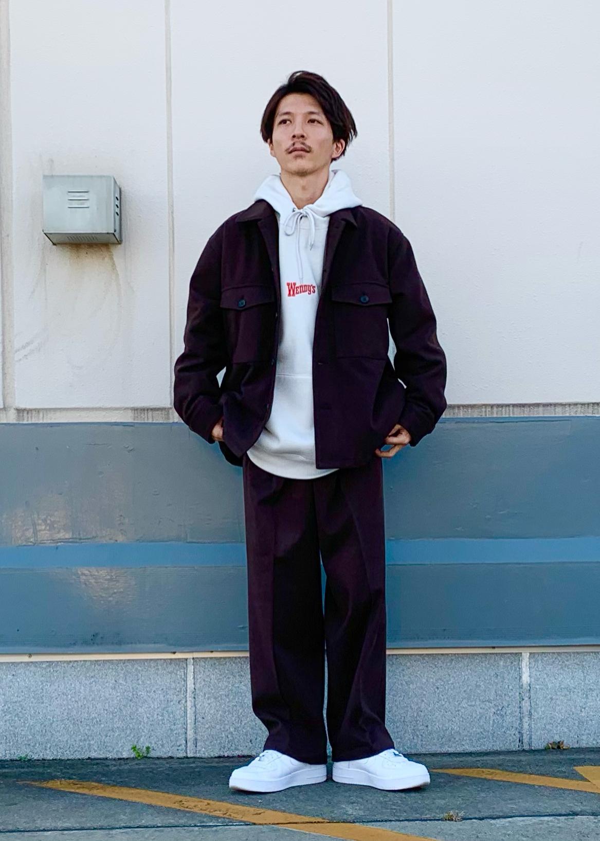 JUNRedの【WENDY'S*JUNRed別注】ロゴパーカーを使ったコーディネートを紹介します。|Rakuten Fashion(楽天ファッション/旧楽天ブランドアベニュー)1082931