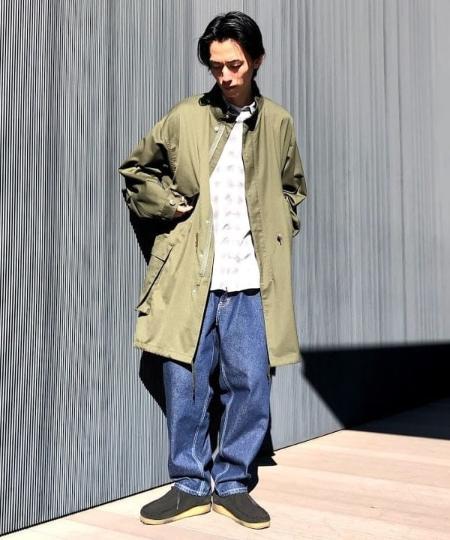 BEAMS MENのBEAMS / M-65 タイプ モッズコートを使ったコーディネートを紹介します。|Rakuten Fashion(楽天ファッション/旧楽天ブランドアベニュー)1073984