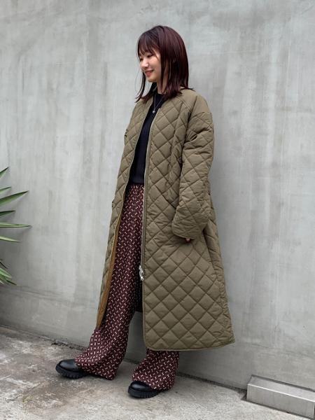 nano・universeのWEB限定/ウォッシャブルリブニット 長袖を使ったコーディネートを紹介します。|Rakuten Fashion(楽天ファッション/旧楽天ブランドアベニュー)1074000