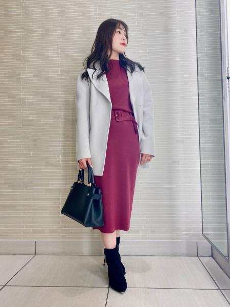 PINKY&DIANNEのニットアップを使ったコーディネートを紹介します。|Rakuten Fashion(楽天ファッション/旧楽天ブランドアベニュー)1074229