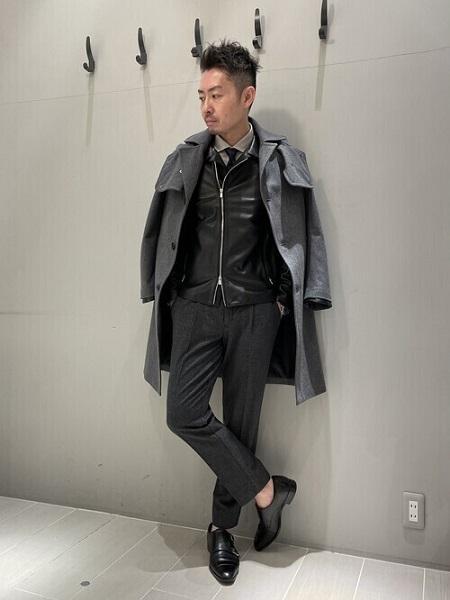 5351POUR LES HOMMESのセミダブル ライダース ジャケットを使ったコーディネートを紹介します。 Rakuten Fashion(楽天ファッション/旧楽天ブランドアベニュー)1074518