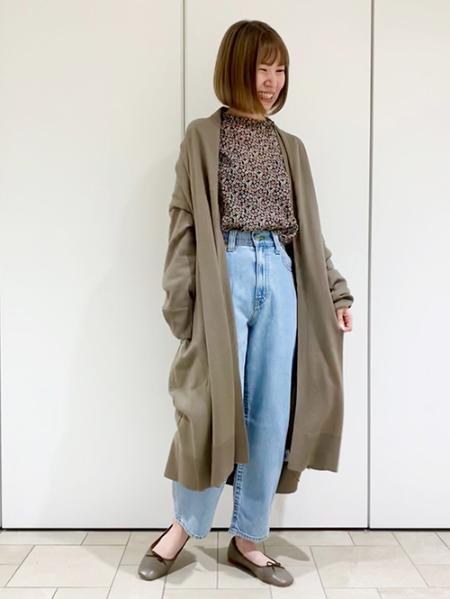 JOURNAL STANDARDのミニフラワープリントスタンドブラウスを使ったコーディネートを紹介します。|Rakuten Fashion(楽天ファッション/旧楽天ブランドアベニュー)1074821