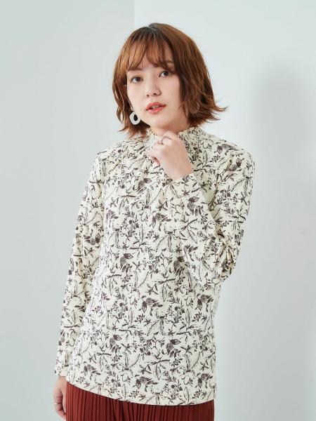 cepoの(W)スムースウラキモウスモッキングPOを使ったコーディネートを紹介します。 Rakuten Fashion(楽天ファッション/旧楽天ブランドアベニュー)1074992