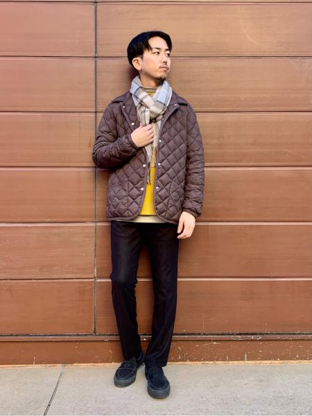 417 EDIFICEの【Traditional Weatherwear】417別注 WAVERLY DOWNを使ったコーディネートを紹介します。|Rakuten Fashion(楽天ファッション/旧楽天ブランドアベニュー)1075448