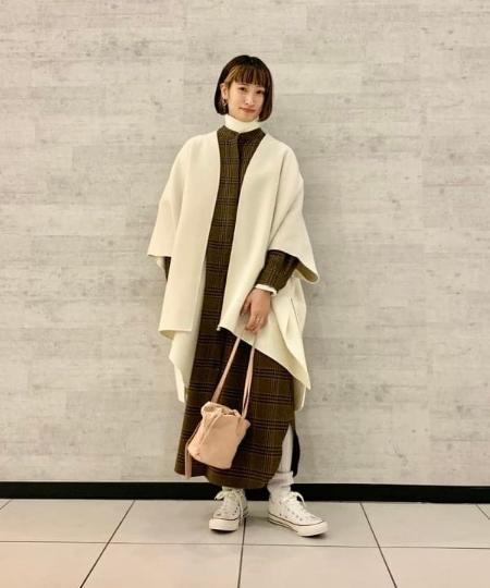 BEAMS LIGHTSの【 SALE 】BEAMS LIGHTS / 手洗い可能 スタンドカラー シャツ ワンピース ビームス ビームスライツ チェック ドレス レイヤード 送料無料を使ったコーディネートを紹介します。|Rakuten Fashion(楽天ファッション/旧楽天ブランドアベニュー)1076148
