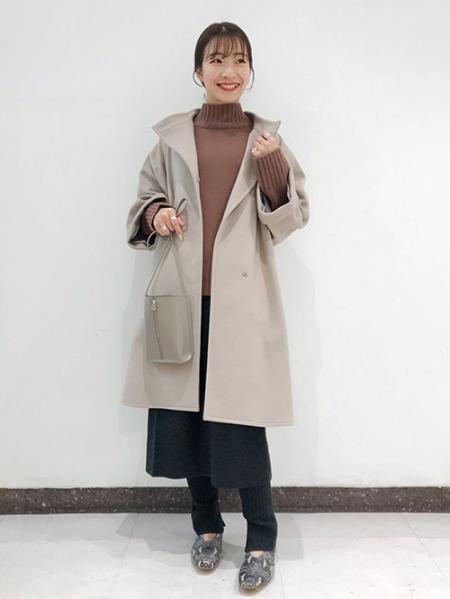 JOURNAL STANDARDの<<追加>>AQUA カシミヤウールタートルネックプルオーバー◆2を使ったコーディネートを紹介します。|Rakuten Fashion(楽天ファッション/旧楽天ブランドアベニュー)1076686