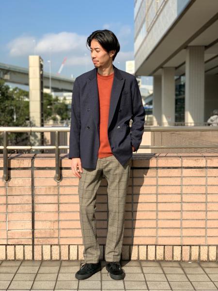 417 EDIFICEの【ユニセックス】コットンカシミアクルーネックを使ったコーディネートを紹介します。|Rakuten Fashion(楽天ファッション/旧楽天ブランドアベニュー)1076899