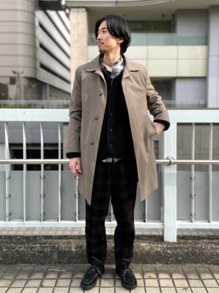 417 EDIFICEのプリントコーデュロイパンツを使ったコーディネートを紹介します。|Rakuten Fashion(楽天ファッション/旧楽天ブランドアベニュー)1076930
