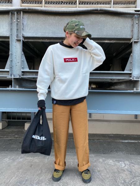 MILKFED.のCHAMPION EMBROID TOPを使ったコーディネートを紹介します。|Rakuten Fashion(楽天ファッション/旧楽天ブランドアベニュー)1079098