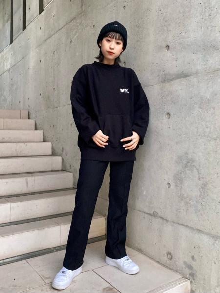 MILKFED.のMF.LA.CA SWEAT TOPを使ったコーディネートを紹介します。|Rakuten Fashion(楽天ファッション/旧楽天ブランドアベニュー)1079101