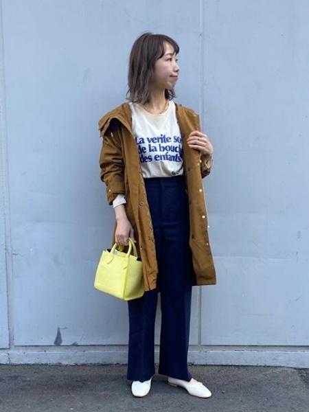 SHIPSのSHIPS any: リサイクルウールメランジパンツを使ったコーディネートを紹介します。|Rakuten Fashion(楽天ファッション/旧楽天ブランドアベニュー)1079777