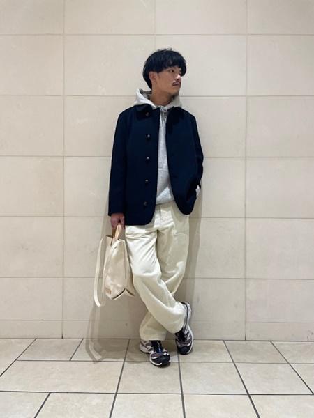 SHIPSのSHIPS any: SORONA混 ストレッチ スーパー ライト メルトン シングル Pコートを使ったコーディネートを紹介します。|Rakuten Fashion(楽天ファッション/旧楽天ブランドアベニュー)1079856