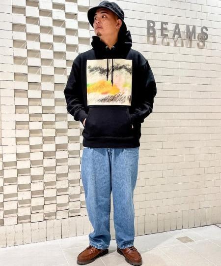 BEAMS TのTOYA HORIUCHI / Untitled パーカを使ったコーディネートを紹介します。 Rakuten Fashion(楽天ファッション/旧楽天ブランドアベニュー)1081684