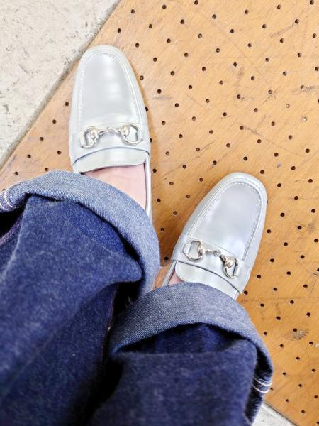 YOSUKEのYOSUKE/(L)ビットローファー ブラックを使ったコーディネートを紹介します。|Rakuten Fashion(楽天ファッション/旧楽天ブランドアベニュー)1081784