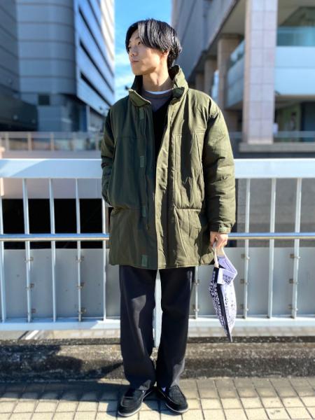 417 EDIFICEの【THERMORE / サーモア】オーバーサイズ中綿モッズコートを使ったコーディネートを紹介します。 Rakuten Fashion(楽天ファッション/旧楽天ブランドアベニュー)1081820