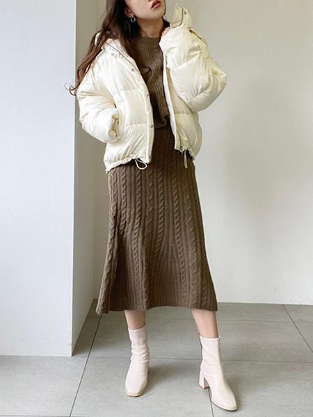 UNRELISHの2wayフードダウンを使ったコーディネートを紹介します。|Rakuten Fashion(楽天ファッション/旧楽天ブランドアベニュー)1082116