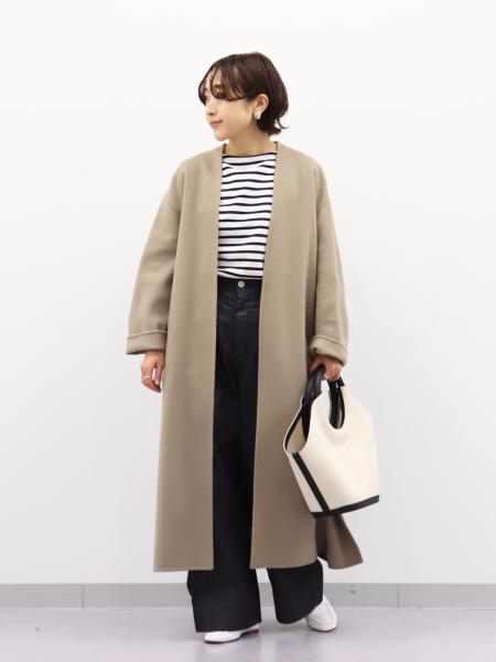 IENAのTCデニムイージーワイドパンツを使ったコーディネートを紹介します。|Rakuten Fashion(楽天ファッション/旧楽天ブランドアベニュー)1083580