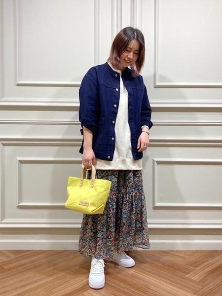 SHIPSのSHIPS any: ヴィンテージライク ノーカラー ジャケットを使ったコーディネートを紹介します。|Rakuten Fashion(楽天ファッション/旧楽天ブランドアベニュー)1083744