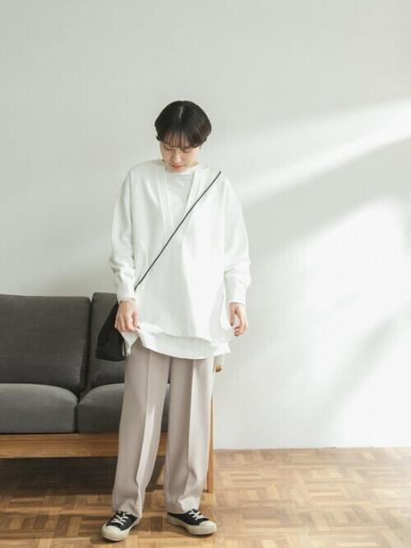 URBAN RESEARCH DOORSの【WEB限定】FORK&SPOON ウラケキーネックプルオーバーを使ったコーディネートを紹介します。|Rakuten Fashion(楽天ファッション/旧楽天ブランドアベニュー)1083691