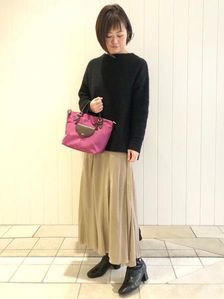 LOWELL ThingsのPoter/フラップナイロントート ミニを使ったコーディネートを紹介します。|Rakuten Fashion(楽天ファッション/旧楽天ブランドアベニュー)1083846