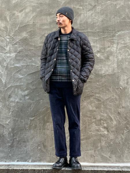 417 EDIFICEの【Traditional Weatherwear】417別注 WAVERLY DOWNを使ったコーディネートを紹介します。|Rakuten Fashion(楽天ファッション/旧楽天ブランドアベニュー)1084051