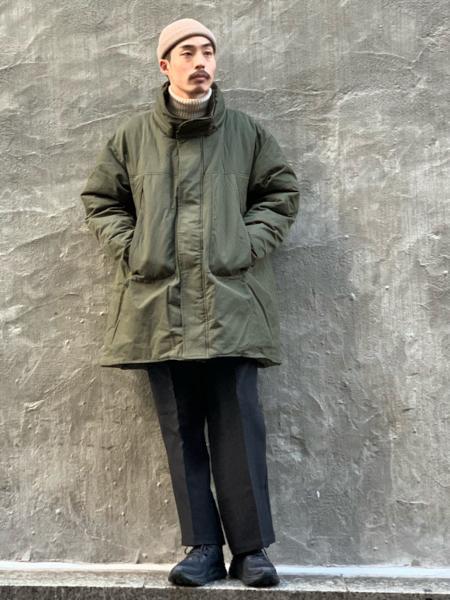 417 EDIFICEの【THERMORE / サーモア】オーバーサイズ中綿モッズコートを使ったコーディネートを紹介します。 Rakuten Fashion(楽天ファッション/旧楽天ブランドアベニュー)1084082