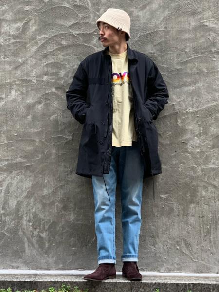 417 EDIFICEの【GRAMICCI / グラミチ】別注テーパードデニムを使ったコーディネートを紹介します。|Rakuten Fashion(楽天ファッション/旧楽天ブランドアベニュー)1084102