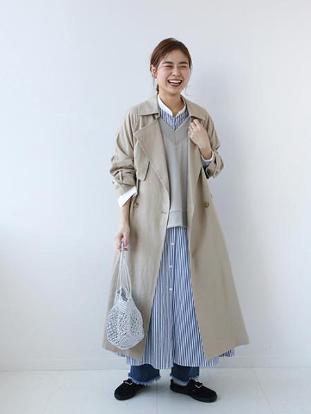 JOURNAL STANDARD relumeのリネンレーヨンオーバーサイズトレンチ◆を使ったコーディネートを紹介します。|Rakuten Fashion(楽天ファッション/旧楽天ブランドアベニュー)1084123