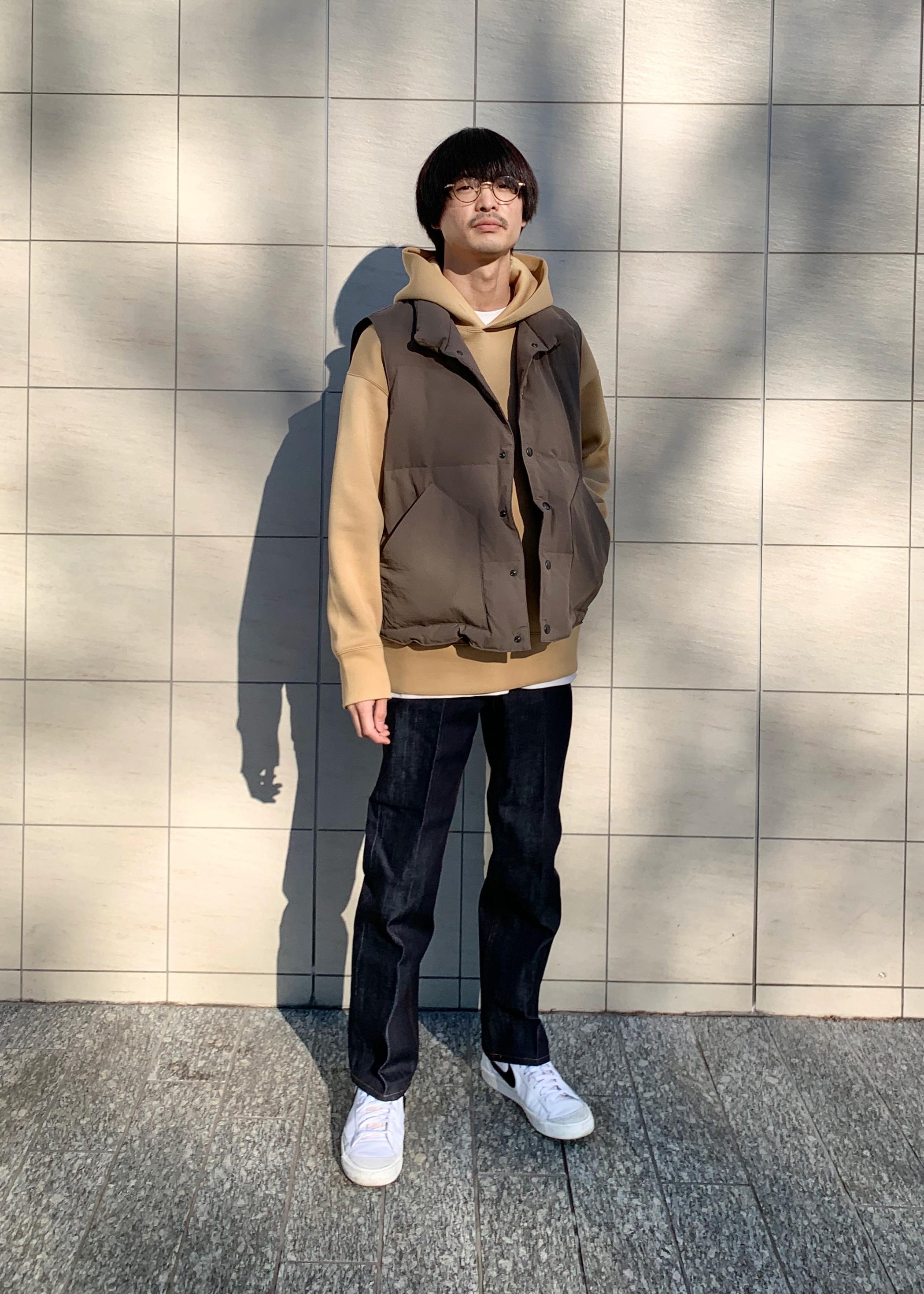 ADAM ET ROPE'のカノコダンボール ルーズパーカーを使ったコーディネートを紹介します。|Rakuten Fashion(楽天ファッション/旧楽天ブランドアベニュー)1086413