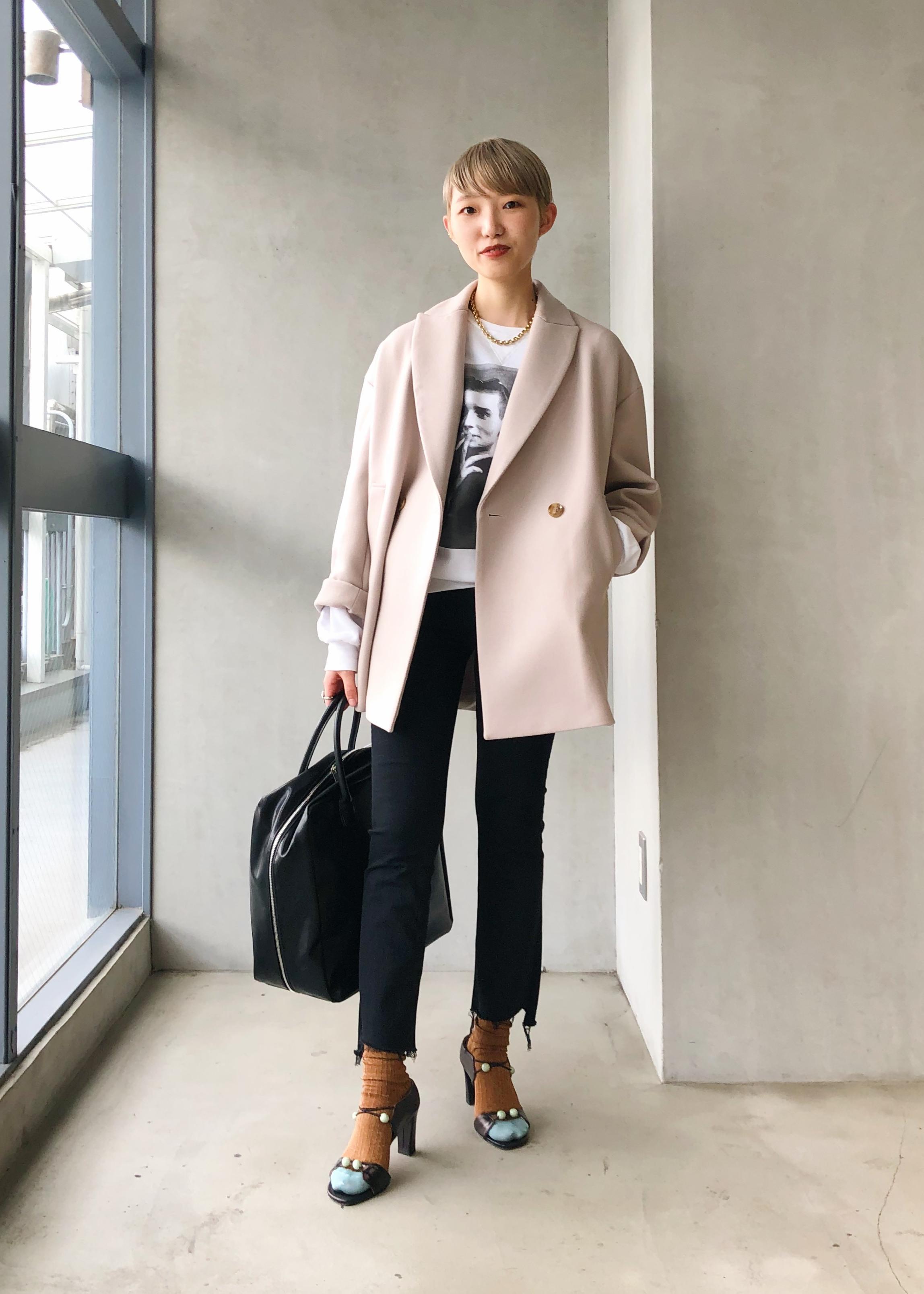 ADAM ET ROPE'のソフトビッグボストンを使ったコーディネートを紹介します。|Rakuten Fashion(楽天ファッション/旧楽天ブランドアベニュー)1086211