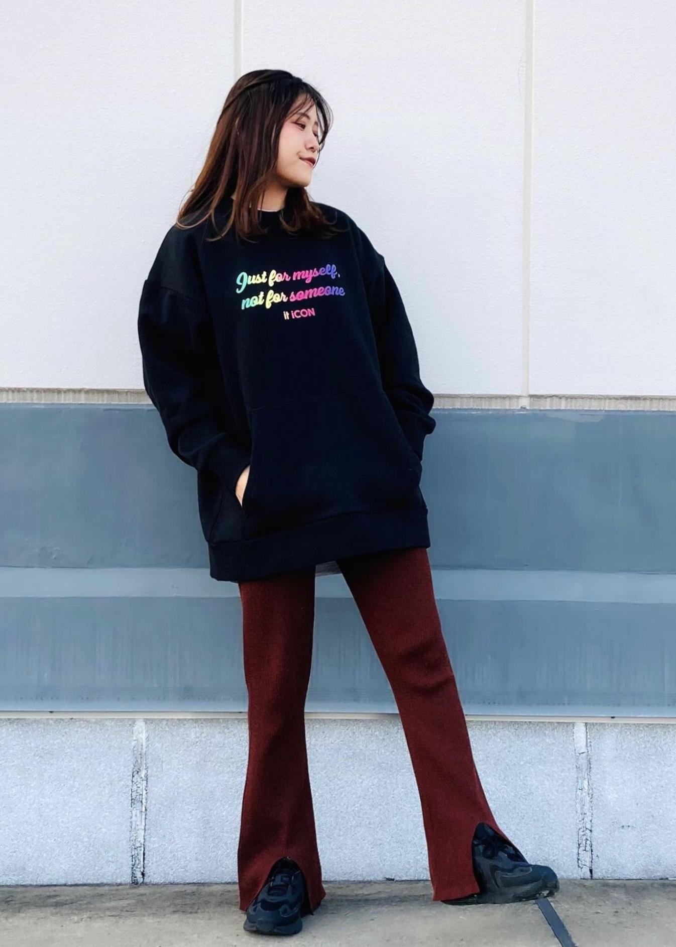 JUNRedのitiCONグラデーションスウェットを使ったコーディネートを紹介します。|Rakuten Fashion(楽天ファッション/旧楽天ブランドアベニュー)1086688
