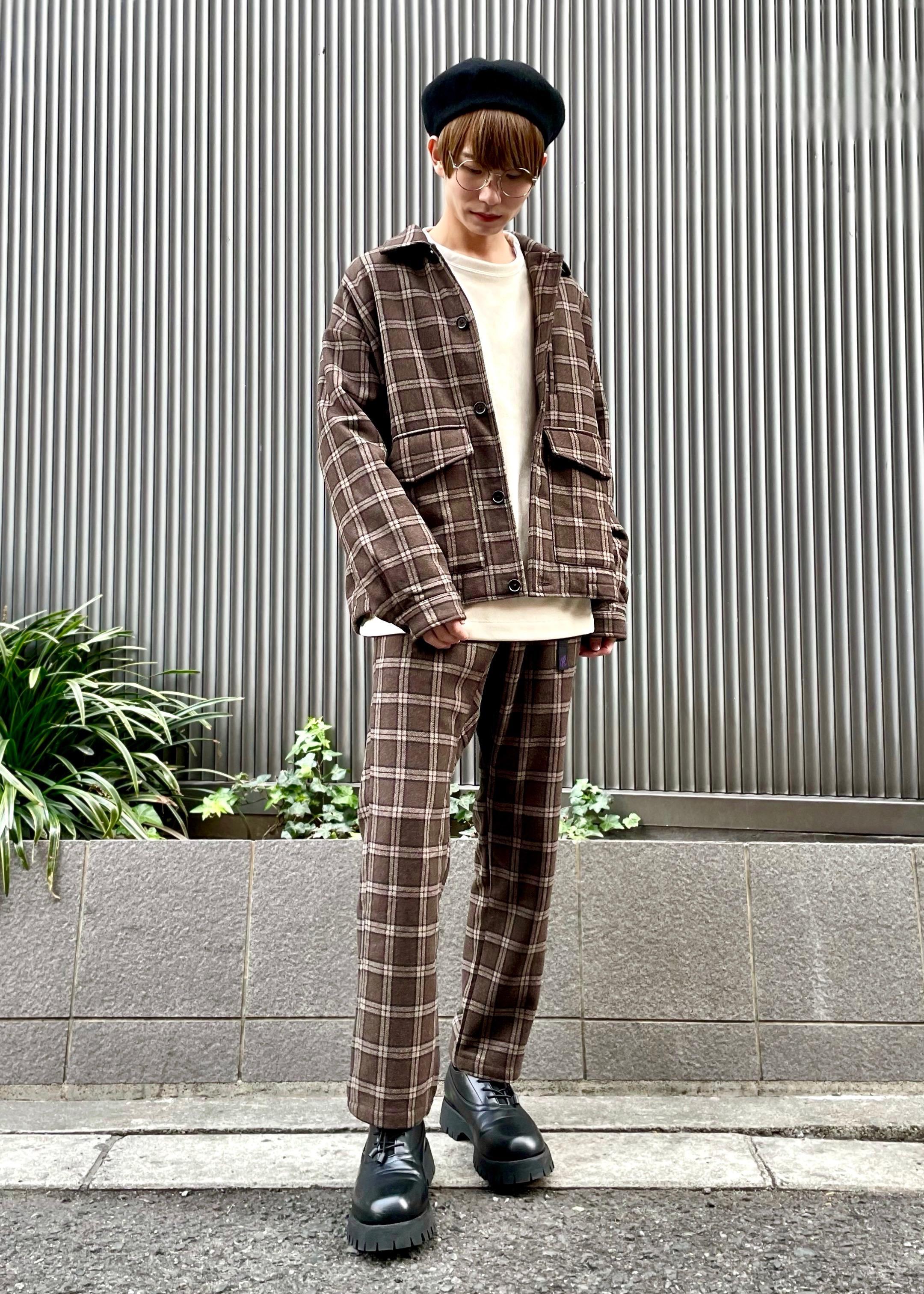JUNRedのスエード裏シャギークルーを使ったコーディネートを紹介します。|Rakuten Fashion(楽天ファッション/旧楽天ブランドアベニュー)1086731