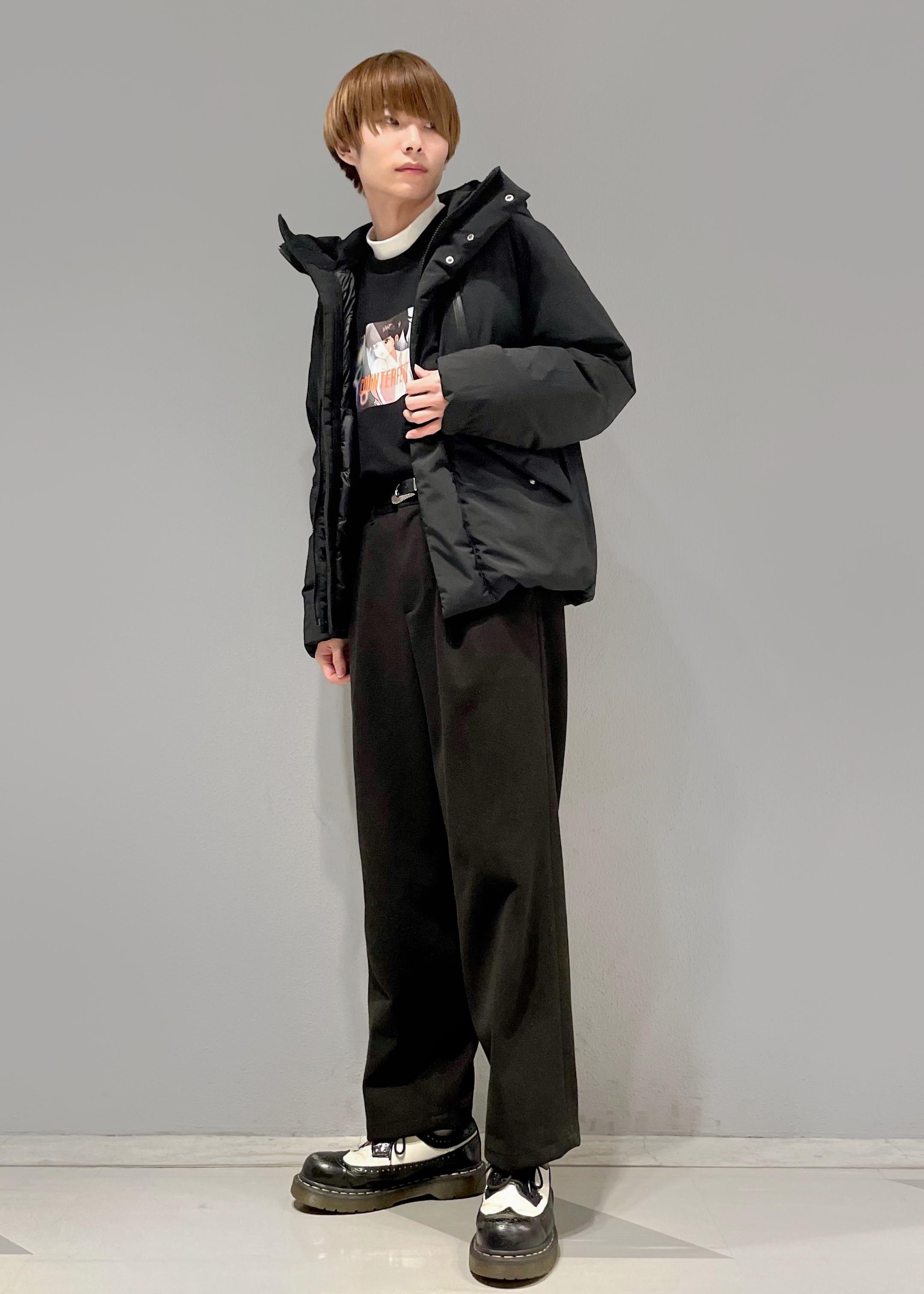 JUNRedのエアリーストレッチフラノワイドパンツ【Set Up可能】を使ったコーディネートを紹介します。 Rakuten Fashion(楽天ファッション/旧楽天ブランドアベニュー)1086764