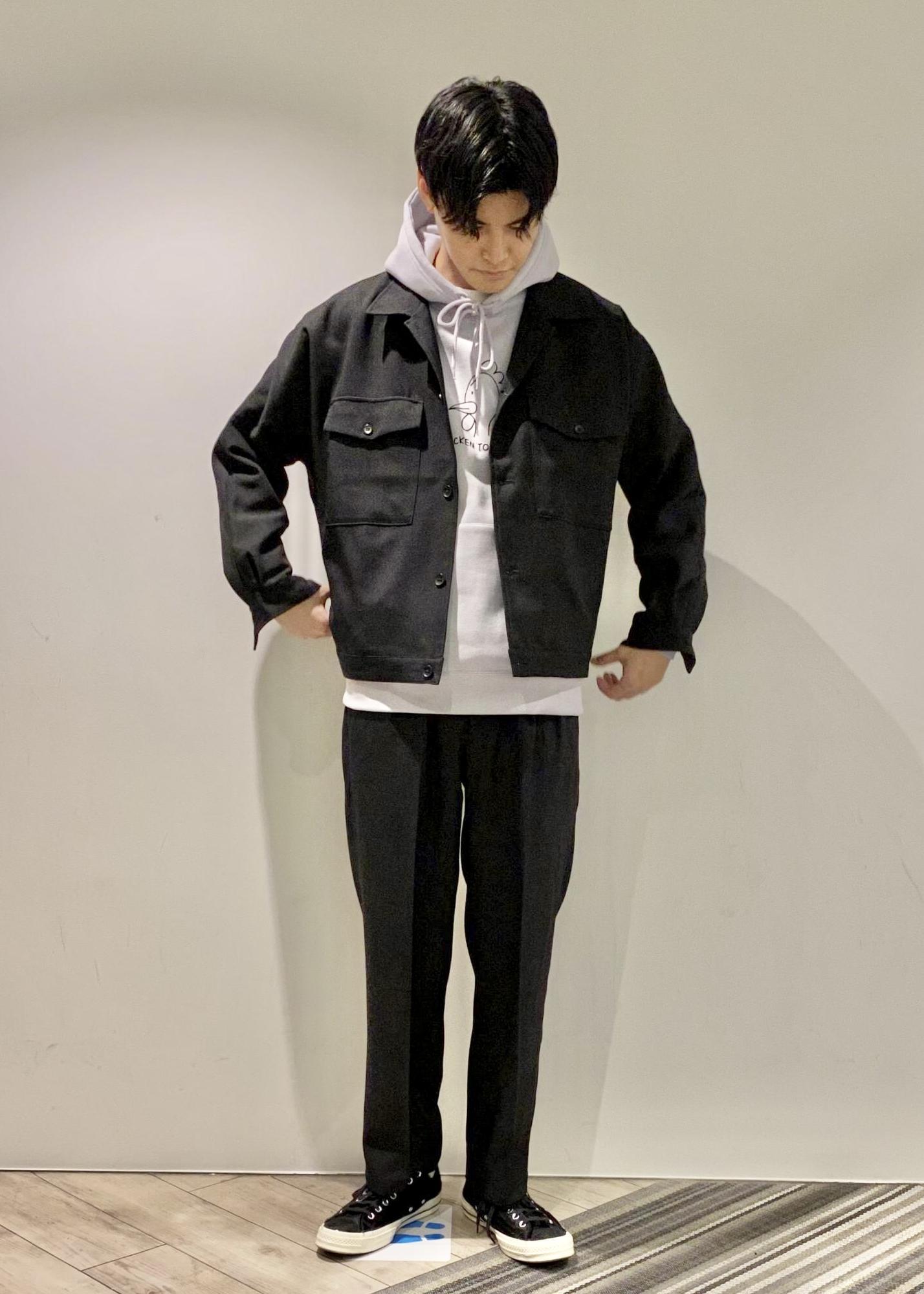 JUNRedのウォッシャブルサージインタックワイドパンツを使ったコーディネートを紹介します。 Rakuten Fashion(楽天ファッション/旧楽天ブランドアベニュー)1086780