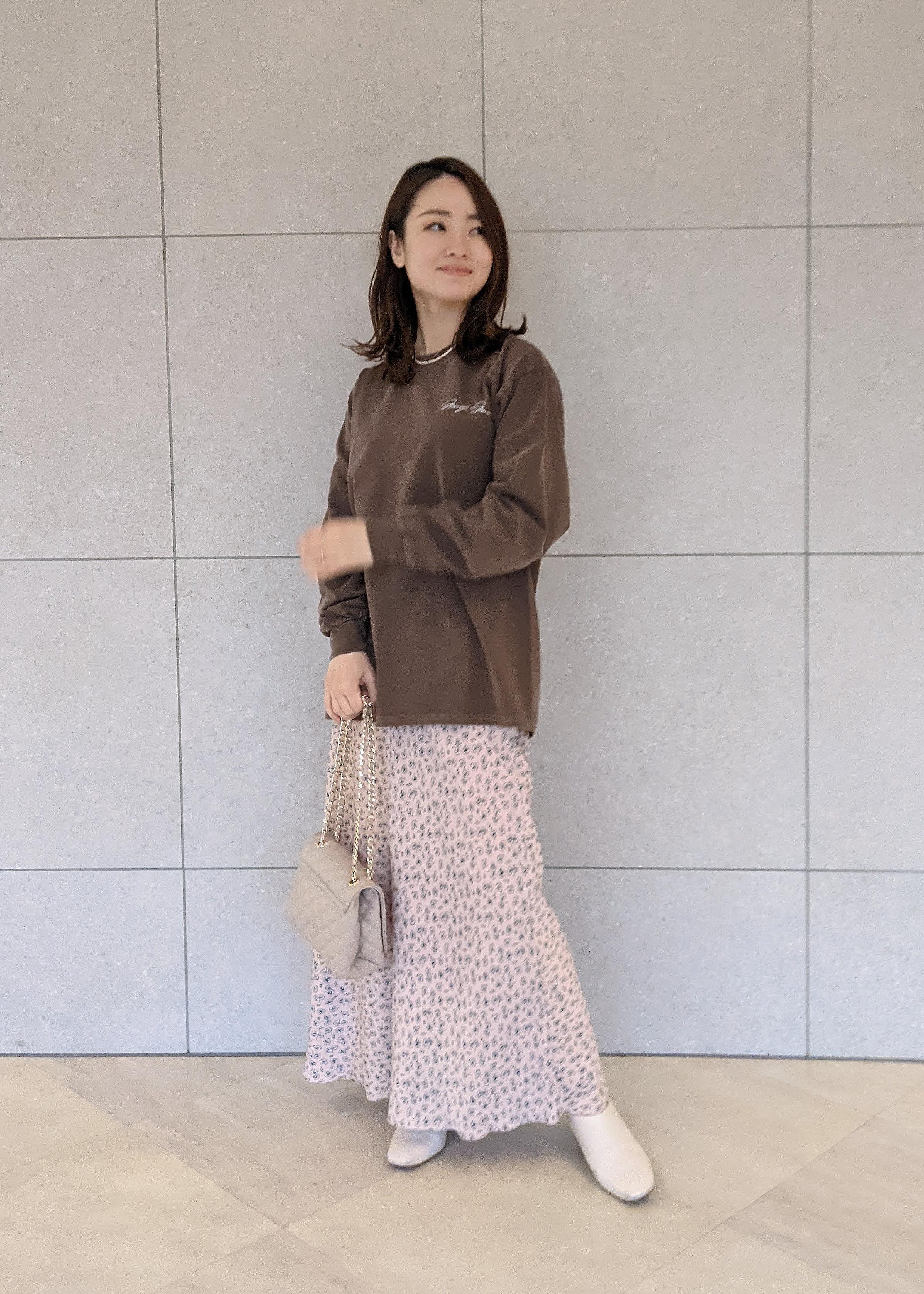 ROPE'のクラシックチェーンショルダーバッグを使ったコーディネートを紹介します。 Rakuten Fashion(楽天ファッション/旧楽天ブランドアベニュー)1086818