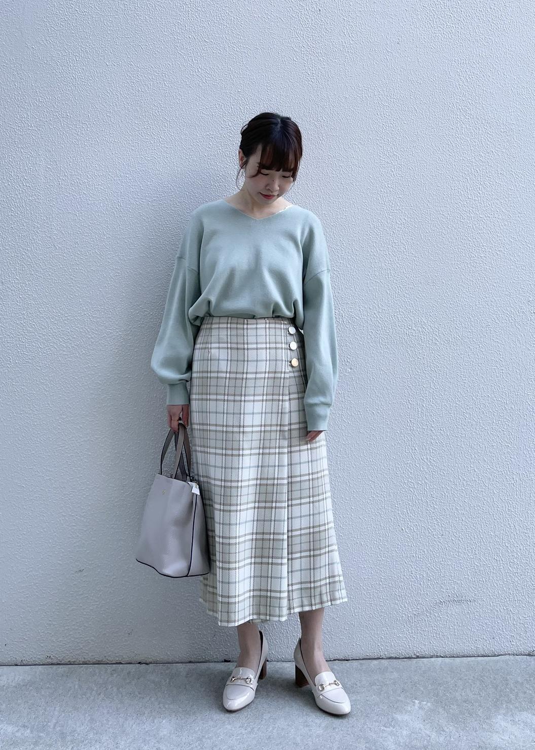 ROPE' PICNICの【WEB限定カラー:グリーン】【ROPE' PICNIC PASSAGE byHARUTA】エナメルビット付フラットローファーを使ったコーディネートを紹介します。|Rakuten Fashion(楽天ファッション/旧楽天ブランドアベニュー)1087020