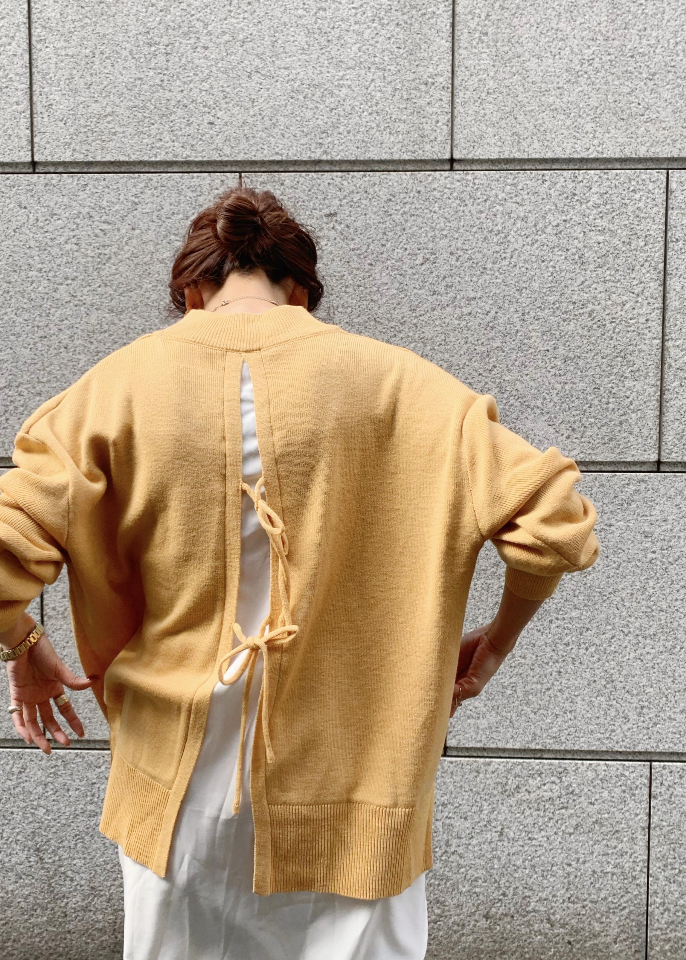 ViSのバックリボンレイヤードニットチュニックを使ったコーディネートを紹介します。|Rakuten Fashion(楽天ファッション/旧楽天ブランドアベニュー)1087256