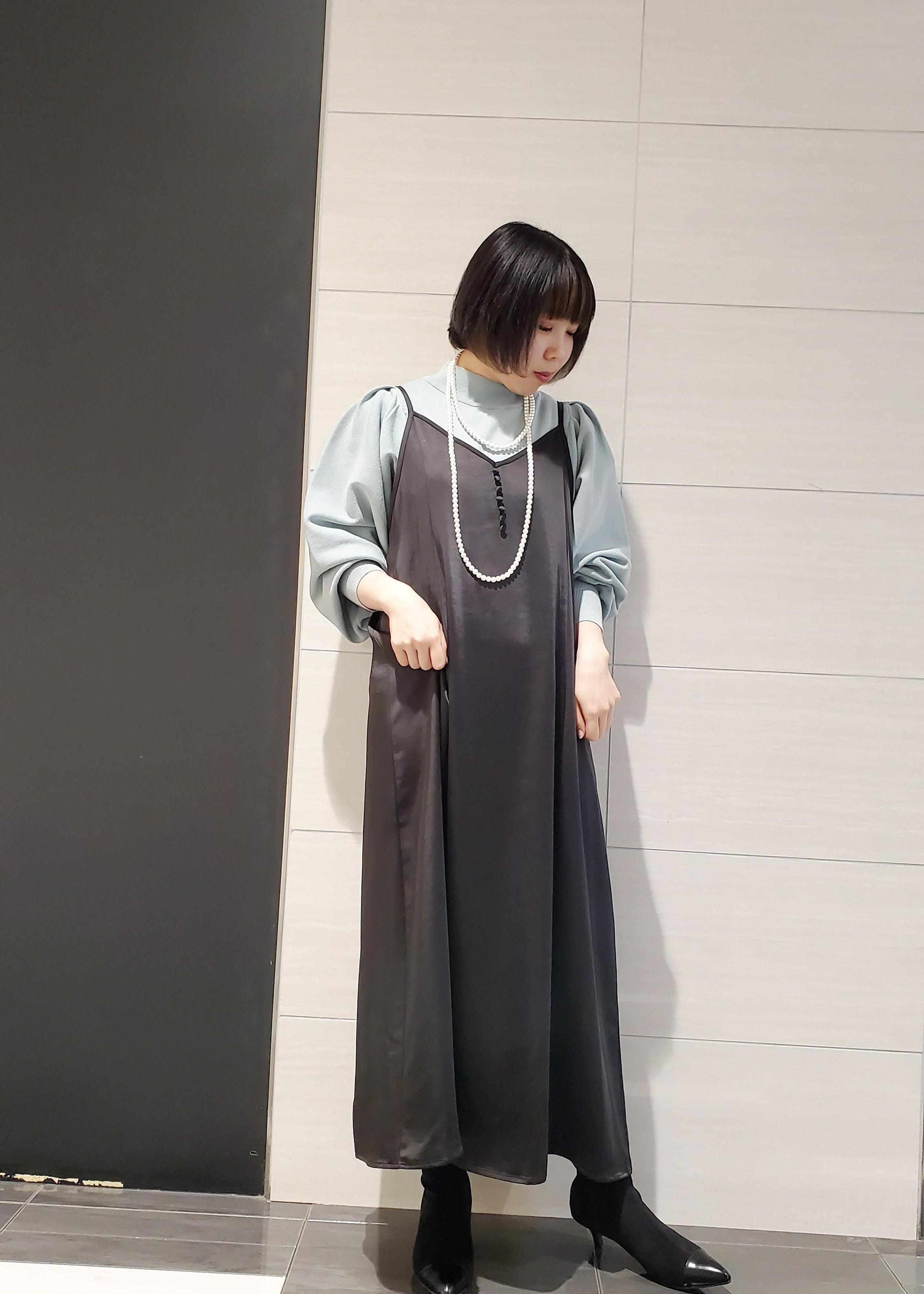 ViSの袖タックボリューム袖総針プルオーバーを使ったコーディネートを紹介します。|Rakuten Fashion(楽天ファッション/旧楽天ブランドアベニュー)1087169