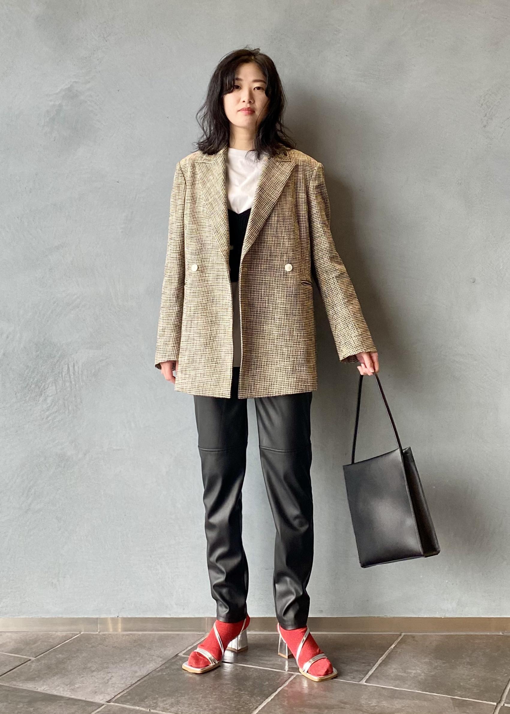 ADAM ET ROPE'のスクエアワンショルダーを使ったコーディネートを紹介します。|Rakuten Fashion(楽天ファッション/旧楽天ブランドアベニュー)1088278