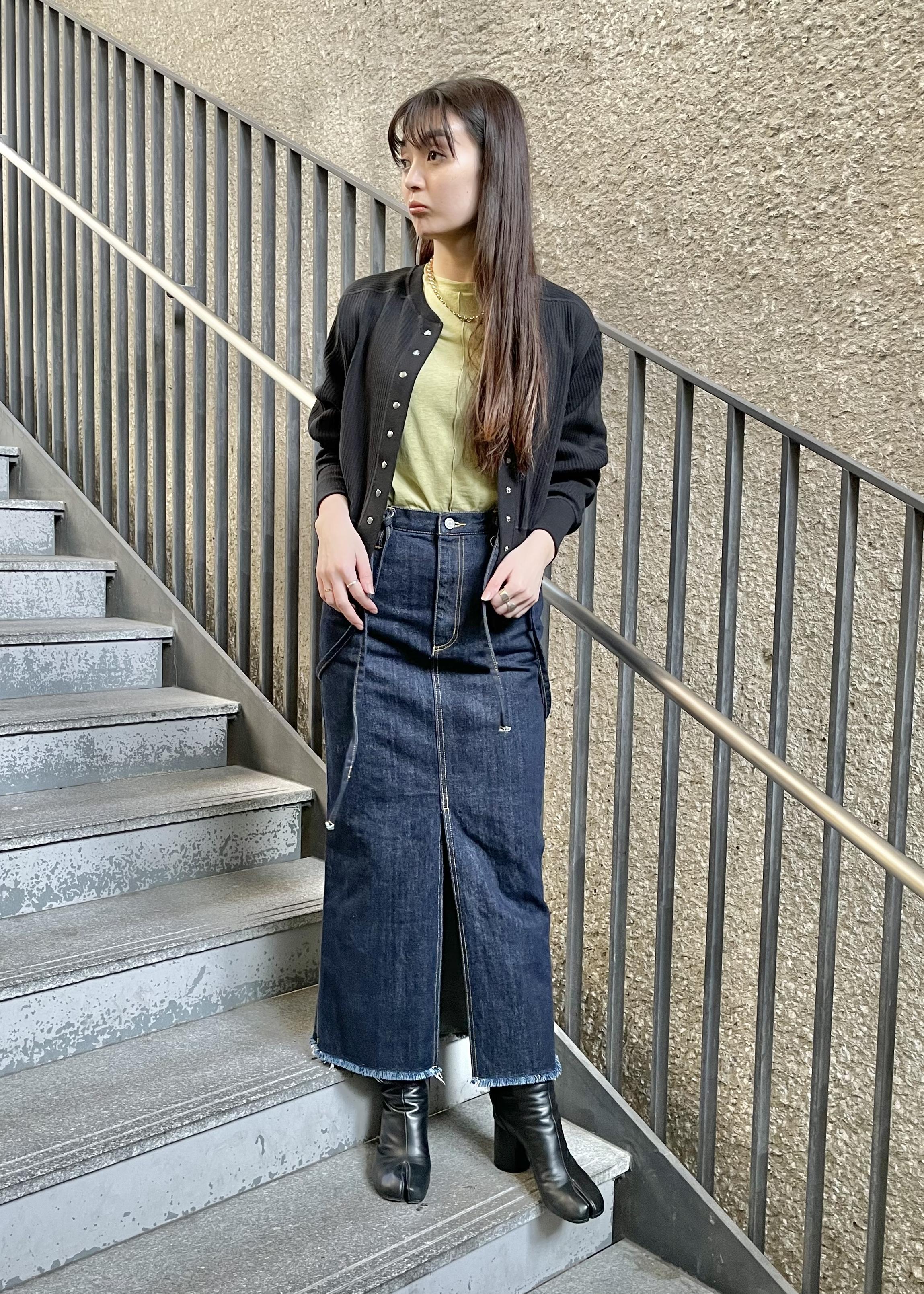 ADAM ET ROPE'の<追加>ブロードリブカーディガンを使ったコーディネートを紹介します。 Rakuten Fashion(楽天ファッション/旧楽天ブランドアベニュー)1088415