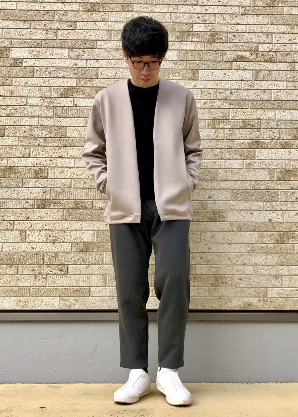 JUNRedのダブルクロスワンタックスリムPTを使ったコーディネートを紹介します。|Rakuten Fashion(楽天ファッション/旧楽天ブランドアベニュー)1088780