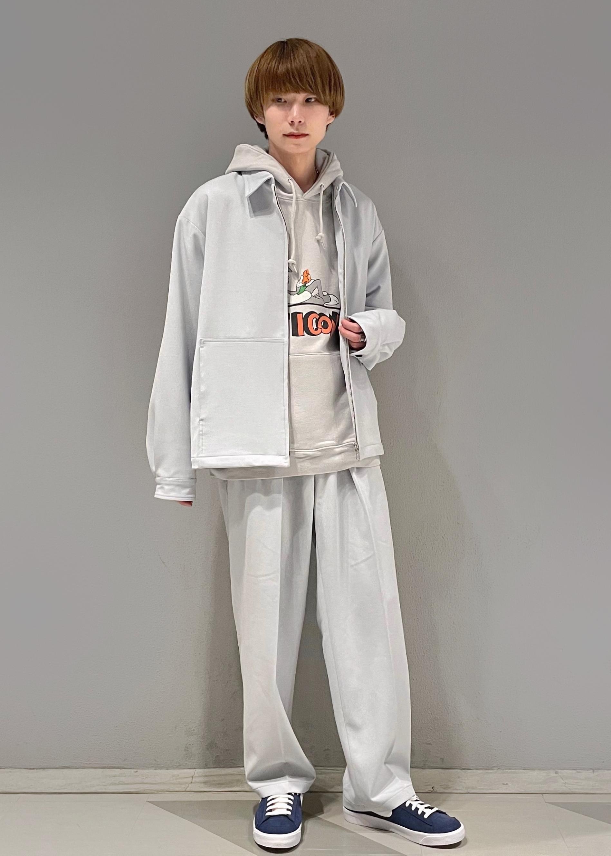 JUNRedのテクスチャーTR ZIPブルゾンを使ったコーディネートを紹介します。 Rakuten Fashion(楽天ファッション/旧楽天ブランドアベニュー)1088783