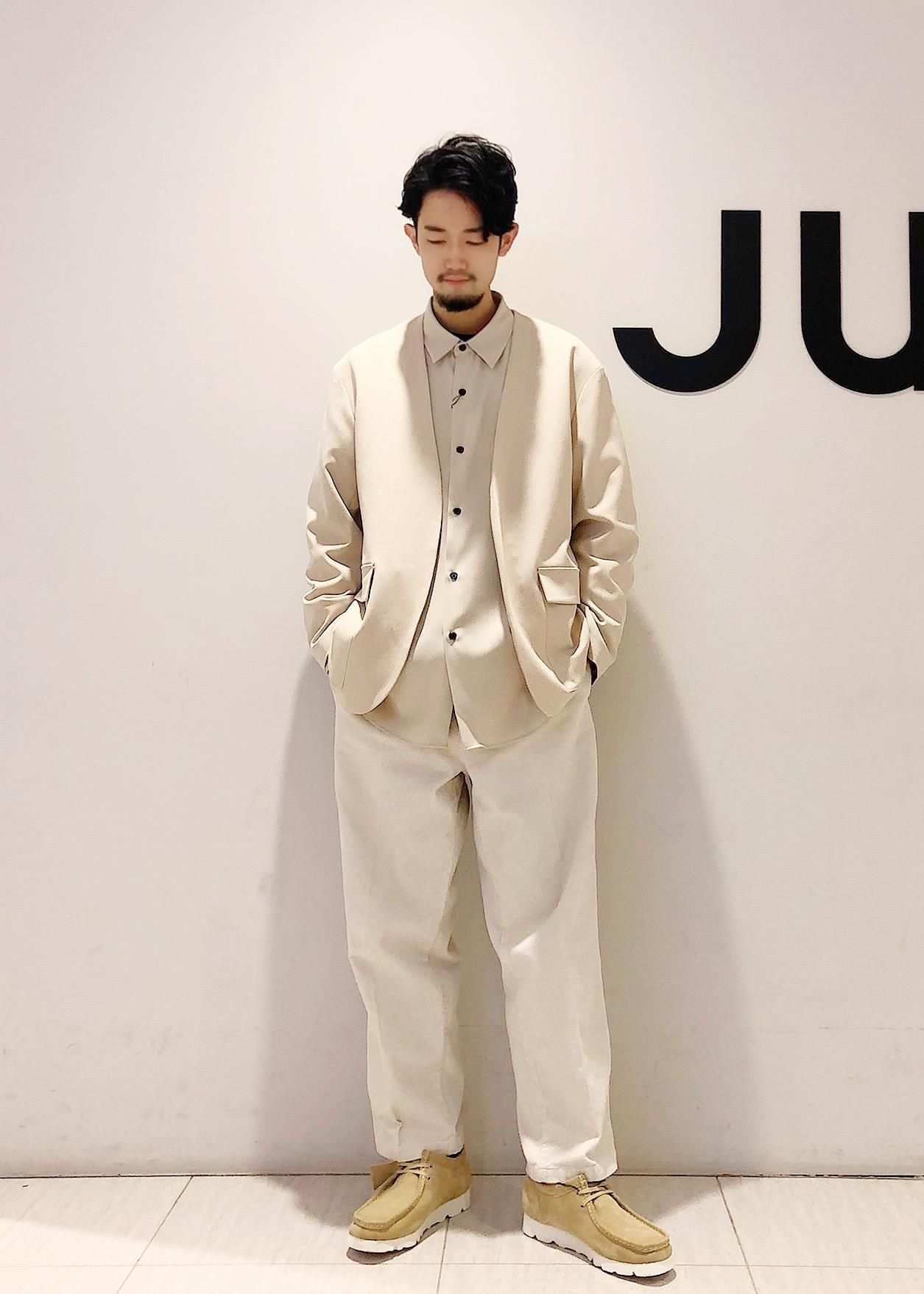 JUNRedのテクスチャーTRルーズノーカラーJKTを使ったコーディネートを紹介します。|Rakuten Fashion(楽天ファッション/旧楽天ブランドアベニュー)1088796