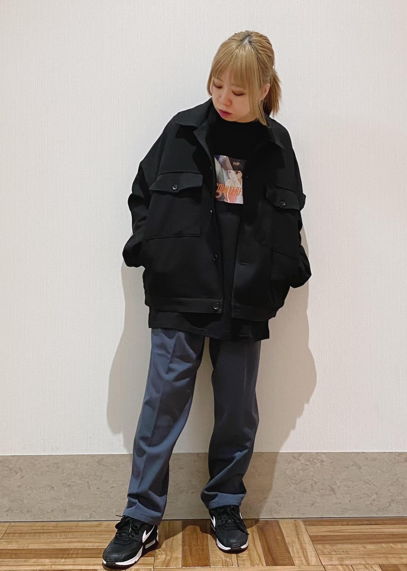 JUNRedのウォッシャブルサージドルマンショートブルゾンを使ったコーディネートを紹介します。 Rakuten Fashion(楽天ファッション/旧楽天ブランドアベニュー)1088913