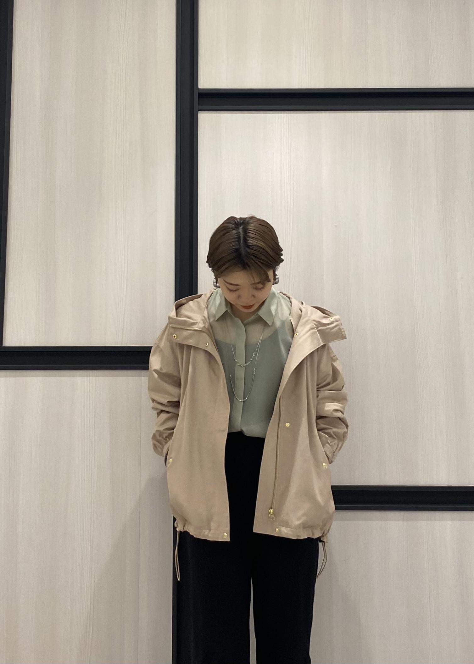 ViSの【花粉ガード】【撥水】ボリュームスリーブマウンテンパーカーを使ったコーディネートを紹介します。 Rakuten Fashion(楽天ファッション/旧楽天ブランドアベニュー)1089170