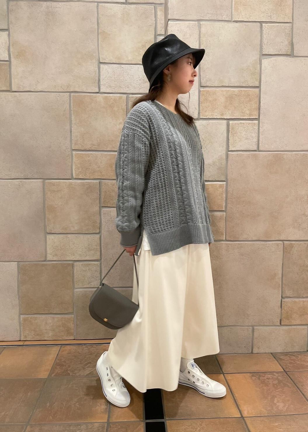 ROPE' PICNICのプチスクエアメタルフラップミニショルダーバッグを使ったコーディネートを紹介します。|Rakuten Fashion(楽天ファッション/旧楽天ブランドアベニュー)1089463