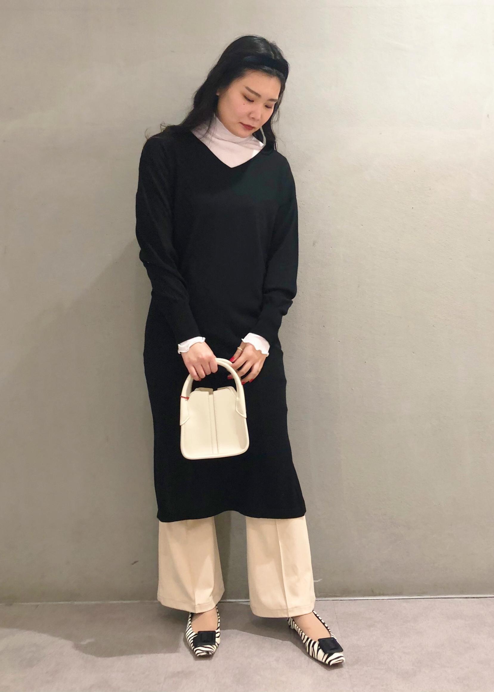 ROPE'の【21SS】ストレッチシアーハイネックプルオーバーを使ったコーディネートを紹介します。 Rakuten Fashion(楽天ファッション/旧楽天ブランドアベニュー)1090383