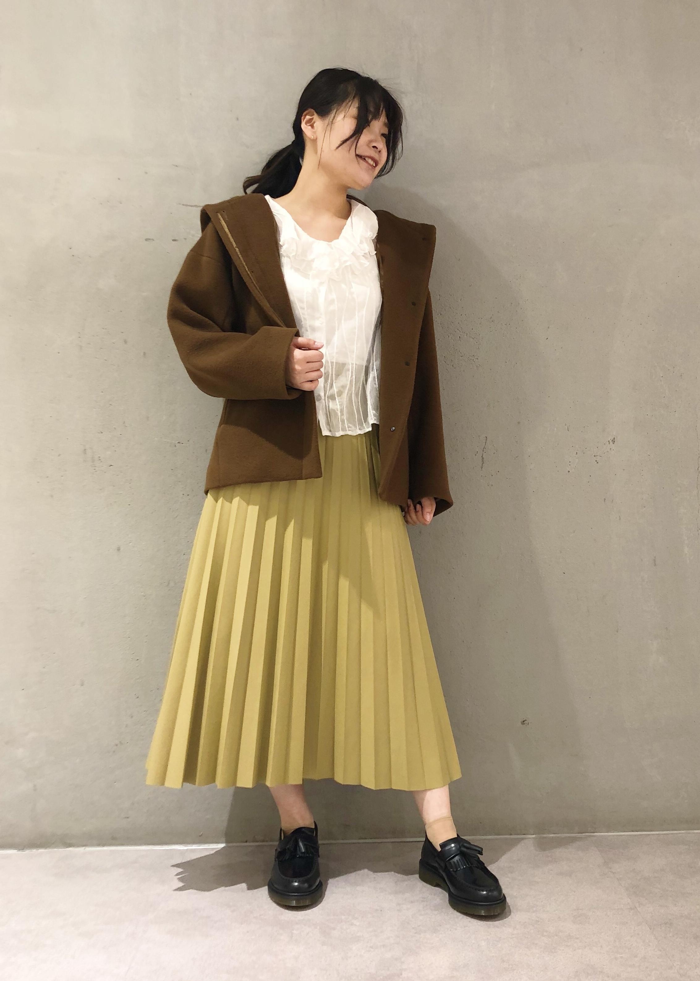 ROPE'の【オーストラリア羊毛使用】フーテッドコクーンショートコートを使ったコーディネートを紹介します。|Rakuten Fashion(楽天ファッション/旧楽天ブランドアベニュー)1090407