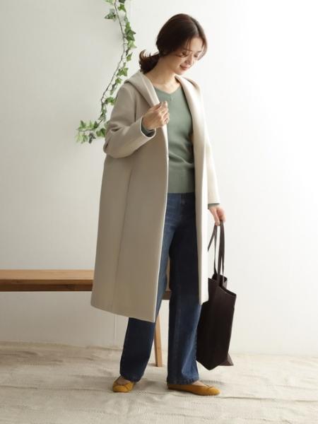URBAN RESEARCH DOORSのワイドVネックプルオーバーを使ったコーディネートを紹介します。|Rakuten Fashion(楽天ファッション/旧楽天ブランドアベニュー)1084908